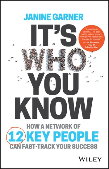 It's Who You Know - How a Network of 12 Key People Can Fast-track Your Success ebook by Janine Garner