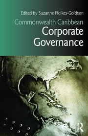 Commonwealth Caribbean Corporate Governance ebook by Suzanne Ffolkes-Goldson
