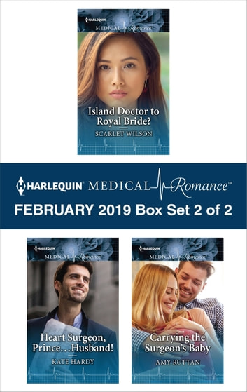 Harlequin Medical Romance February 2019 - Box Set 2 of 2 - An Anthology 電子書 by Scarlet Wilson,Kate Hardy,Amy Ruttan