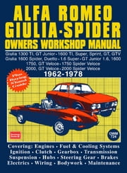 Alfa Romeo Spider Owners Work Manual ebook by Manual, Trade