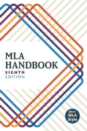 MLA Handbook ebook by The Modern Language Association of America