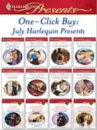 One-Click Buy: July Harlequin Presents - Forbidden: The Billionaire's Virgin Princess\The Australian Millionaire's Love-Child\The Billionaire Boss's Secretary Bride\The Greek Tycoon's Convenient Wife\The Italian's Secret Baby\The Sheikh's Blackmailed Mistress ebook by Lucy Monroe, Robyn Grady, Helen Brooks,...
