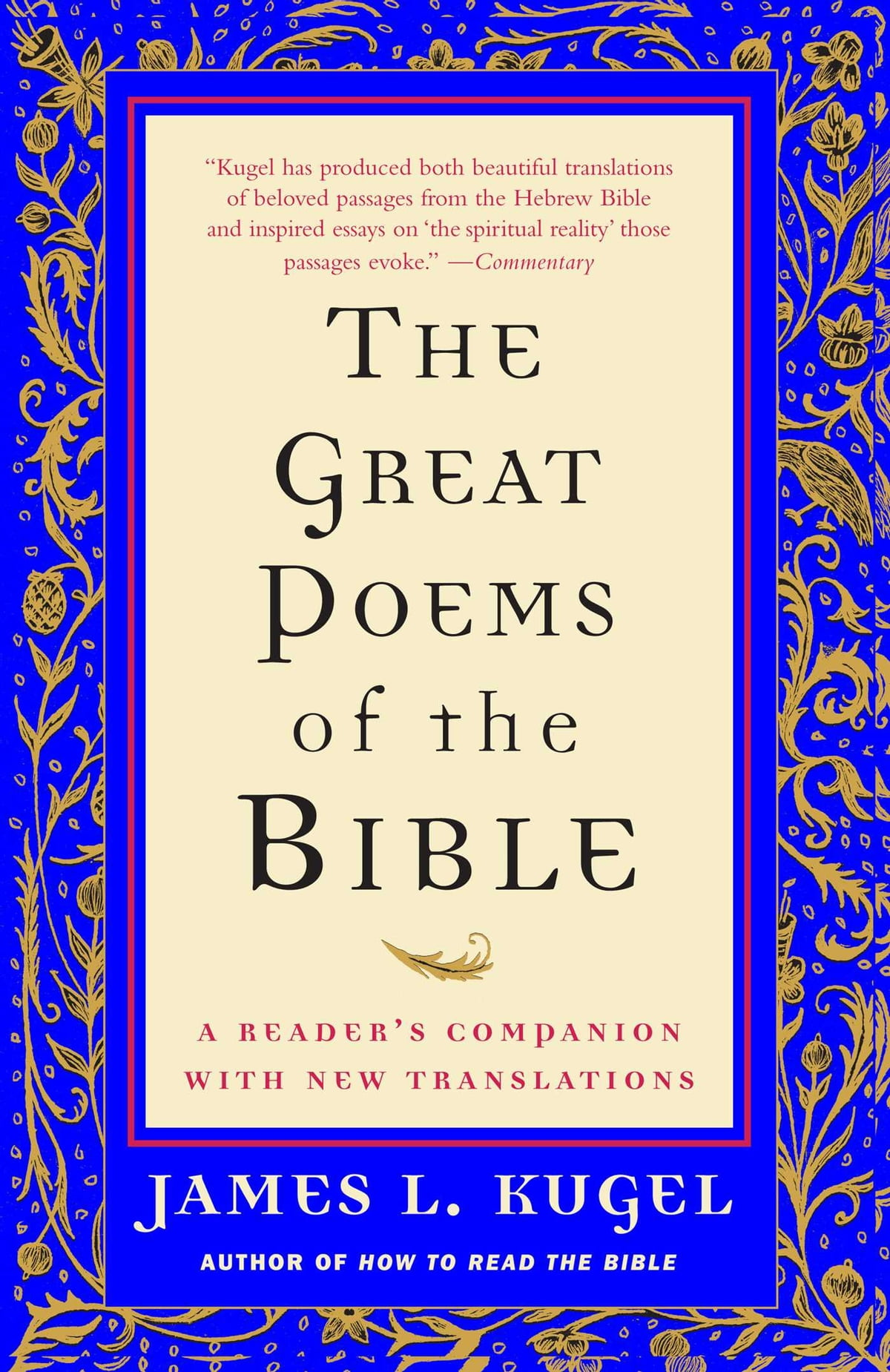 The Great Poems Of The Bible Ebook By James L Kugel border=