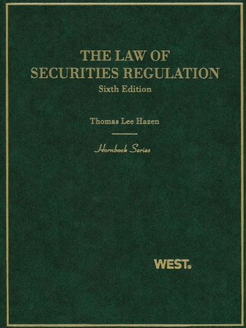 The law of securities regulation 6th hornbook series ebook by the law of securities regulation 6th hornbook series ebook by thomas hazen fandeluxe Images
