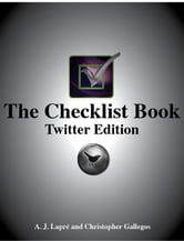 The Checklist Book: Twitter Edition ebook by A.J. Lapre,Christopher Gallegos