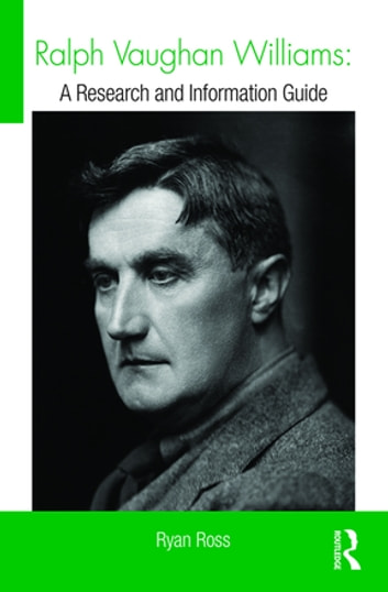 Ralph Vaughan Williams Ebook By Ryan Ross 9781317646150 Rakuten Kobo