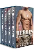 Heroes of Resolution Ranch - The Complete Series: Books 1-4 ebook by Tessa Layne