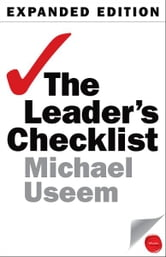 The Leader's Checklist - 15 Mission-Critical Principles ebook by Michael Useem