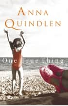 One True Thing ebook by Anna Quindlen