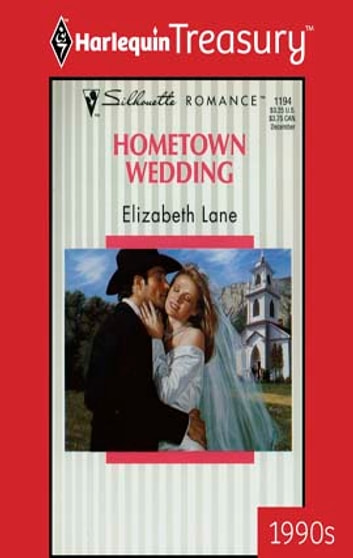 Hometown Wedding ebook by Elizabeth Lane