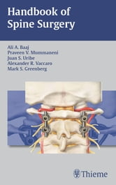 Handbook of Spine Surgery ebook by