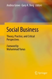 Social Business - Theory, Practice, and Critical Perspectives ebook by Andrea Grove, Gary A. Berg