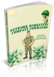 Network Marketing Company Commando ebook by Bouzid Otmani