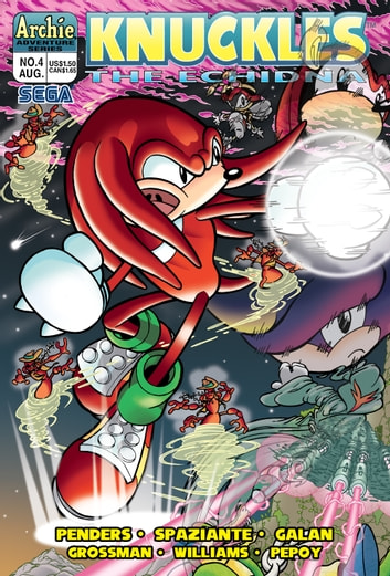 "Knuckles the Echidna #4 ebook by Ken Penders,Patrick ""SPAZ"" Spaziante,Manny Galan,Andrew Pepoy,Barry Grossman"