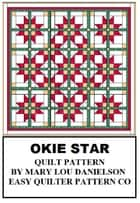 Quilt Pattern: Okie Star ebook by Mary Lou Danielson