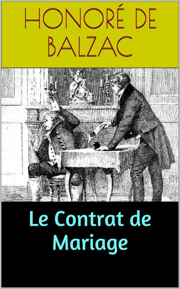 Le Contrat de Mariage ebook by Honoré de Balzac