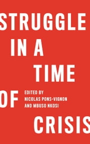 Struggle in a Time of Crisis ebook by Nicolas Pons-Vignon,Mbuso Nkosi