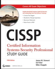 CISSP: Certified Information Systems Security Professional Study Guide ebook by Ed Tittel,Mike Chapple,James M. Stewart
