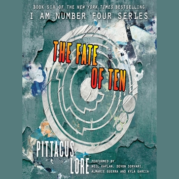 The Fate of Ten audiobook by Pittacus Lore
