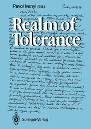 Realm of Tolerance ebook by Pavol Ivanyi,M. Boiron