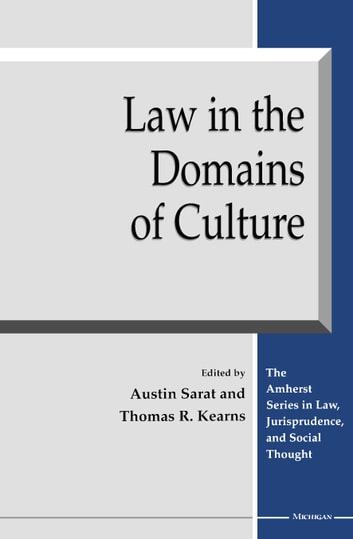 Law in the Domains of Culture ebook by