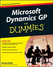 Microsoft Dynamics GP For Dummies ebook by Renato Bellu