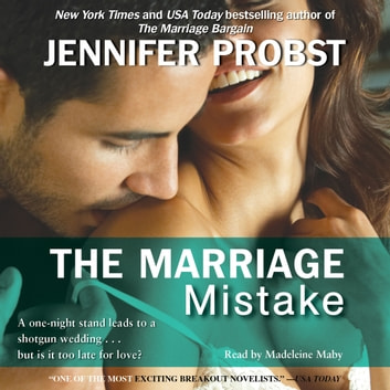 The Marriage Mistake Audiobook By Jennifer Probst 9781442361805