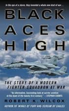 Black Aces High - The Story of a Modern Fighter Squadron at War ebook by Robert K. Wilcox