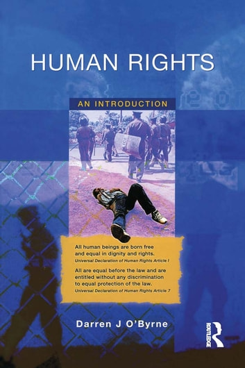 Human Rights - An Introduction ebook by Darren O'Byrne