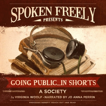 A Society audiobook by Virginia Woolf