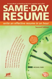Same-Day Resume ebook by Farr