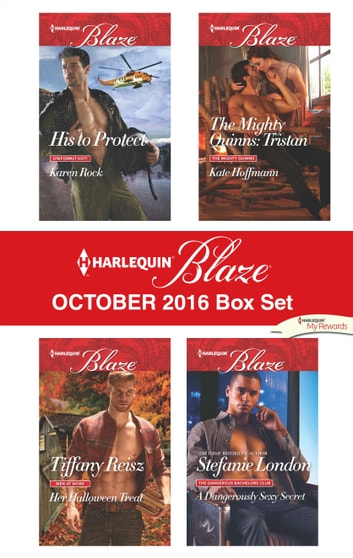 Harlequin Blaze October 2016 Box Set - An Anthology ebook by Karen Rock,Tiffany Reisz,Kate Hoffmann,Stefanie London
