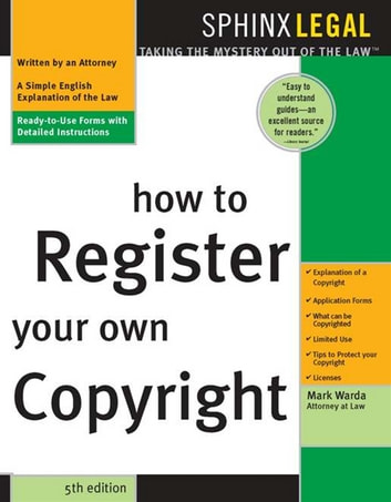 How to Register Your Own Copyright ebook by Mark Warda