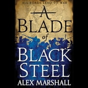 A Blade of Black Steel audiobook by Alex Marshall