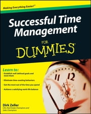 Successful Time Management For Dummies ebook by Dirk Zeller