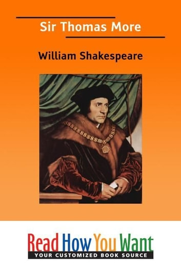 Sir Thomas More ebook by Shakespeare William