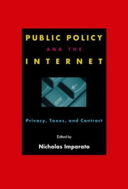Public Policy and the Internet ebook by Cronin, Mary J.