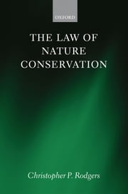 The Law of Nature Conservation ebook by Christopher Rodgers