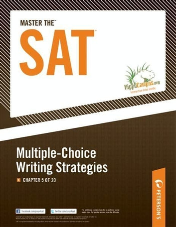 Master the SAT: Multiple-Choice Writing Strategies: Chapter 5 of 20 ebook by Peterson's