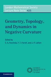Geometry, Topology, and Dynamics in Negative Curvature ebook by C. S. Aravinda,F. T. Farrell,J.-F. Lafont