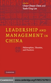 Leadership and Management in China ebook by Chen,Chao-Chuan