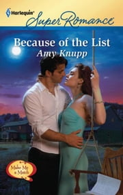 Because of the List ebook by Amy Knupp