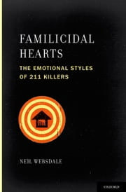 Familicidal Hearts: The Emotional Styles of 211 Killers ebook by Neil Websdale