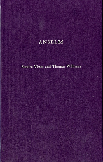 Anselm ebook by Sandra Visser,Thomas Williams