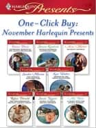 One-Click Buy: November Harlequin Presents ebook by Emma Darcy, Sharon Kendrick, Anne Mather,...