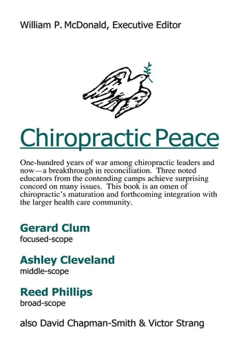 Chiropractic Peace ebook by William P. McDonald