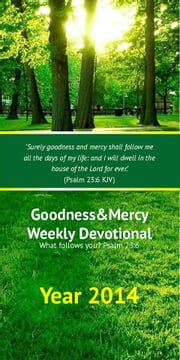 Goodness&Mercy Devotionals - Year 2014 ebook by Ntando Ncube