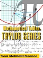 Mathematical Tables: Taylor (Maclaurin) Series (Mobi Study Guides) ebook by