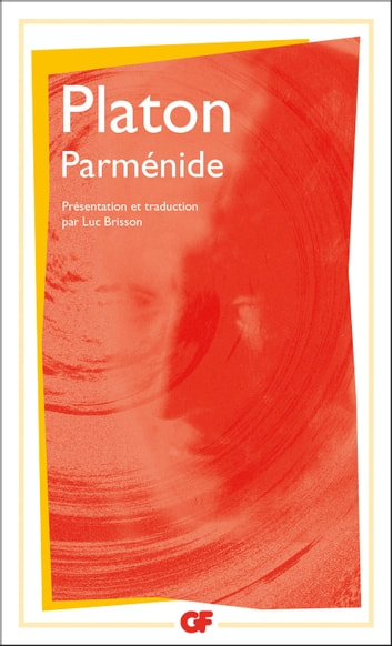 Parménide ebook by Platon,Luc Brisson