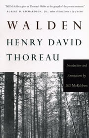 Walden - Introduction and Annotations by Bill McKibben ebook by Henry David Thoreau